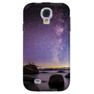 Caja de la galaxia s4 de Samsung de la roca de los