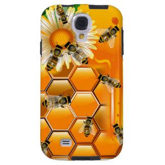 Caja de la galaxia S4 de Samsung de las abejas de  Funda Para Galaxy S4