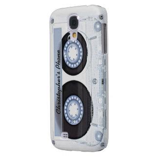 Caja de la galaxia S4 de Samsung del casete audio Samsung Galaxy S4 Cover