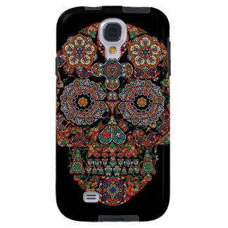 Caja de la galaxia S4 de Samsung del cráneo del Funda Para Galaxy S4