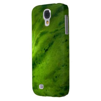 Caja de la galaxia S4 de Samsung del jade