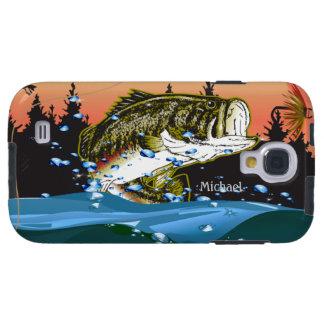 Caja de la galaxia S4 de Samsung del pescador Funda Para Galaxy S4