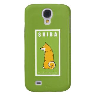 Caja de la galaxia S4 de Shiba Samsung