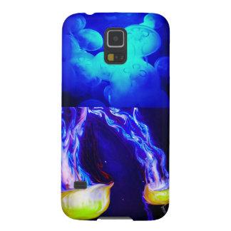Caja de la galaxia S5 de Samsung de las medusas Carcasa Para Galaxy S5
