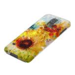 Caja de la galaxia S5 de Samsung de los girasoles Funda Galaxy S5