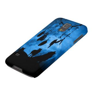 Caja de la galaxia S5 de Samsung de los lobos de Fundas Para Galaxy S5