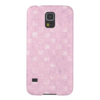 Caja de la galaxia S5 de Samsung de los rosas Fundas De Galaxy S5