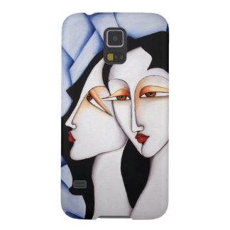 Caja de la galaxia S5 de Samsung del arte de los Funda Para Galaxy S5