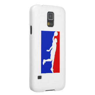Caja de la galaxia S5 de Samsung del baloncesto Fundas De Galaxy S5