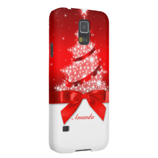 Caja de la galaxia S5 de Samsung del navidad Carcasas De Galaxy S5