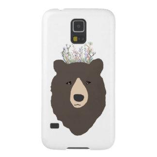 Caja de la galaxia S5 de Samsung del oso Carcasa De Galaxy S5