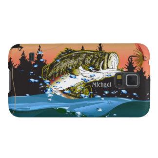 Caja de la galaxia S5 de Samsung del pescador Fundas Para Galaxy S5