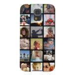 Caja de la galaxia S5 del collage de la foto del Fundas Para Galaxy S5