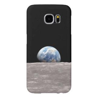 Caja de la galaxia S6 de Earthrise Samsung Funda Samsung Galaxy S6