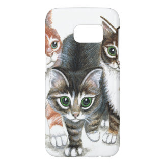 caja de la galaxia S7 de Samsung del gatito Funda Samsung Galaxy S7