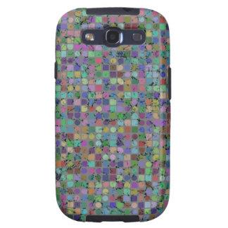 Caja de la galaxia S 3 de Samsung de los PUNTOS Y Funda Para Galaxy S3