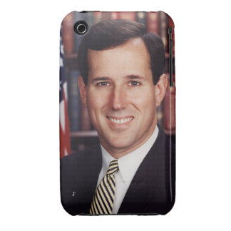 Caja de la galaxia S de Rick Santorum iPhone 3 Carcasas