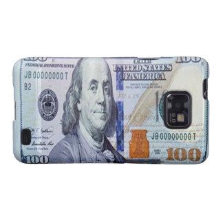 Caja de la galaxia S de Samsung de 100 billetes de Galaxy S2 Fundas