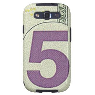 Caja de la galaxia S de Samsung de 5 billetes de d Galaxy SIII Cobertura