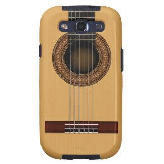 Caja de la galaxia S de Samsung de la guitarra Carcasa Para Samsung Galaxy S3