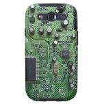 Caja de la galaxia S de Samsung de la placa de cir Galaxy SIII Protector