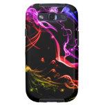 Caja de la galaxia S de Samsung del arco iris de S Samsung Galaxy S3 Funda