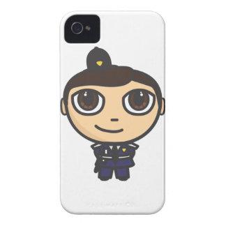 Caja de la galaxia S de Samsung del policía del Funda Para iPhone 4