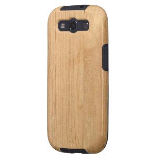 Caja de la galaxia S de Samsung - maderas - pino Galaxy SIII Cárcasas
