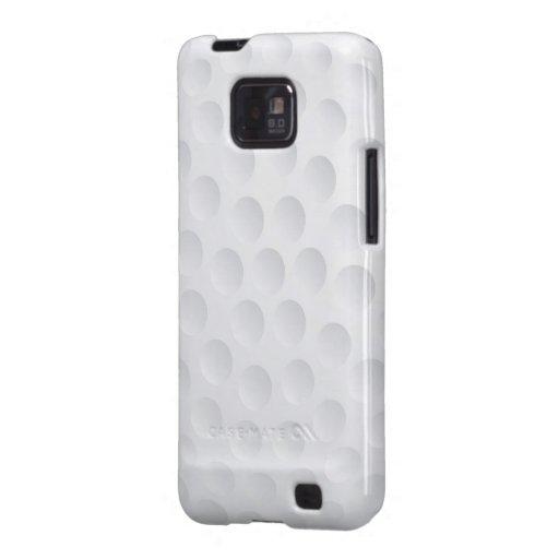 Caja de la galaxia S de Samsung - pelota de golf Samsung Galaxy S2 Carcasa