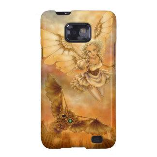 Caja de la galaxia S II de Samsung de la fantasía  Samsung Galaxy S2 Fundas