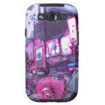 Caja de la galaxia S III de Samsung Galaxy S3 Protectores