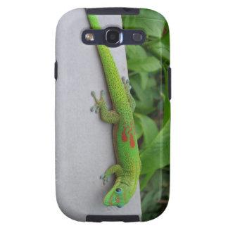 Caja de la galaxia SIII de Samsung del Gecko del d Galaxy S3 Protector