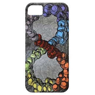 Caja de la gota de rezo del infinito iPhone 5 coberturas