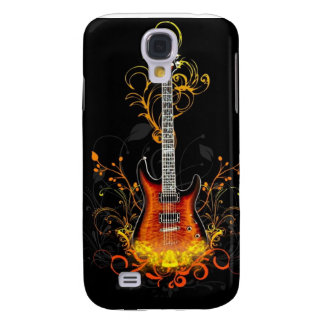 Caja de la guitarra de HD para la galaxia S4 de Carcasa Para Galaxy S4