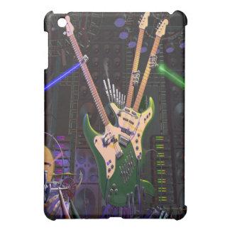 caja de la guitarra de la roca del iPad