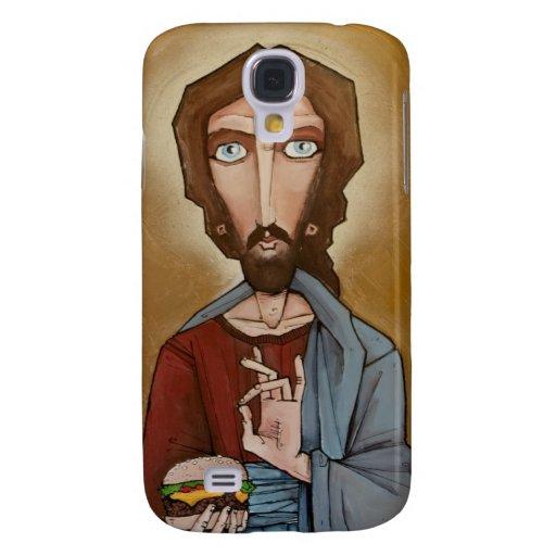 Caja de la hamburguesa de Jesús