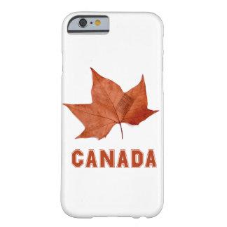 Caja de la hoja de arce de Canadá para el iPhone 6 Funda De iPhone 6 Barely There