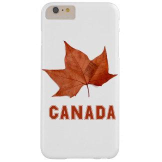 Caja de la hoja de arce de Canadá para el iPhone 6 Funda De iPhone 6 Plus Barely There