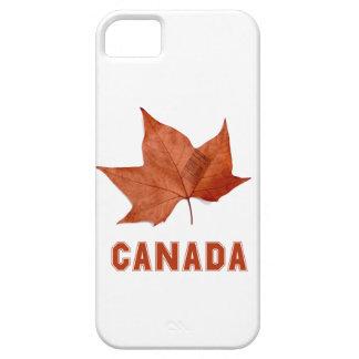 Caja de la hoja de arce de Canadá para el iPhone iPhone 5 Case-Mate Cobertura