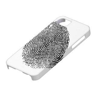 caja de la huella dactilar del iphone 5/5s iPhone 5 fundas