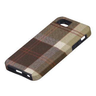caja de la impresión del tartán de Bannockbane del iPhone 5 Carcasas