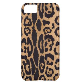Caja de la impresión iPhone5 de Jaguar Funda Para iPhone 5C