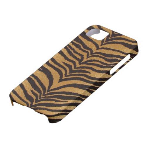 Caja de la impresión iPhone-4 del tigre iPhone 5 Coberturas