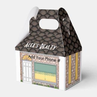 Caja de la invitación de la forma del hogar de la cajas para regalos