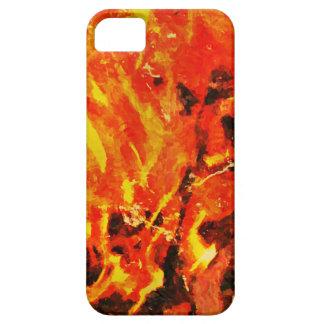 Caja de la llama iPhone 5 fundas