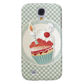 Caja de la magdalena iPhone3 Samsung Galaxy S4 Cover