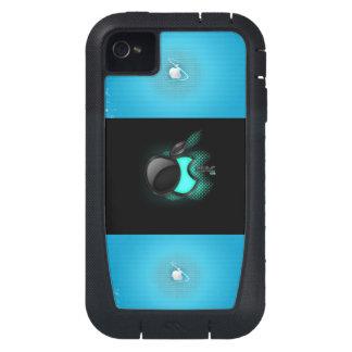 caja de la manzana funda para iPhone 4