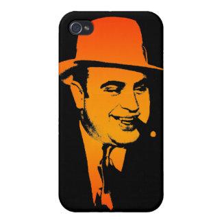 Caja de la mota de Capone iPhone 4/4S Carcasas
