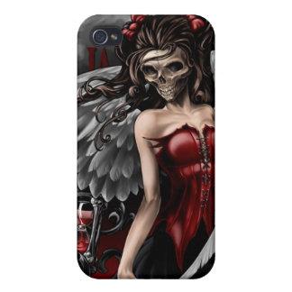 Caja de la mota de GothicAngel iPhone4 iPhone 4/4S Carcasas