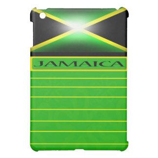 Caja de la mota de Ipad de la bandera de Jamaica